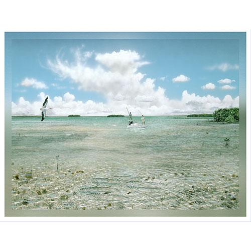 Nervous Waters 36 x 48 Canvas