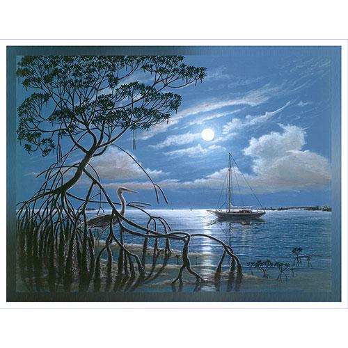Moonlight Magic 36 x 48 Canvas