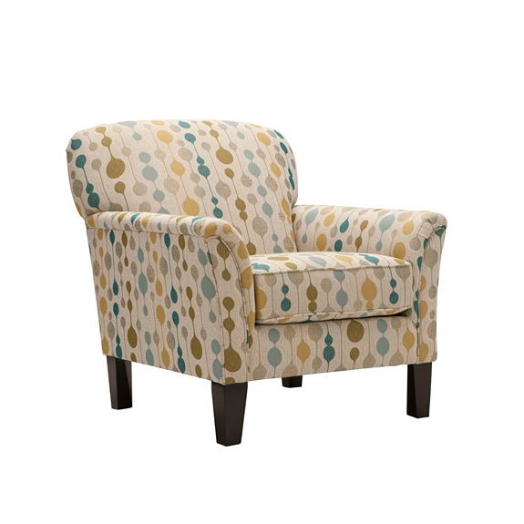 Simmons Accent Chair in Booya Tropic