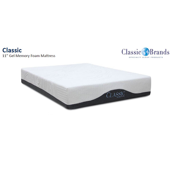 Classic Brands Ellesmere 11 Inch Queen Memory Foam Mattress
