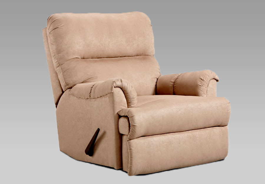 Affordable Sensations Camel Microfiber Reclinerû