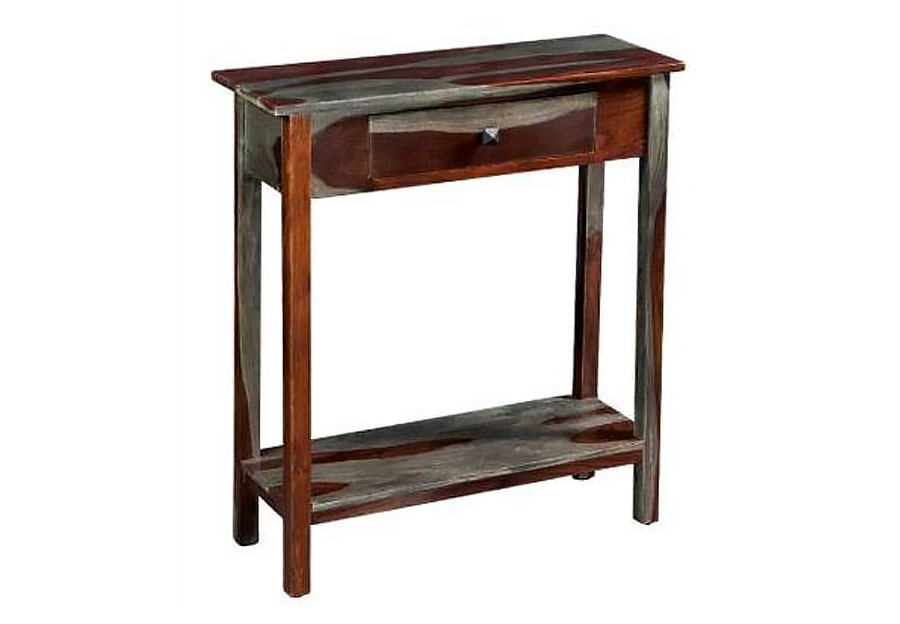Coast to Coast Grayson Sheesham One Drawer Console Table
