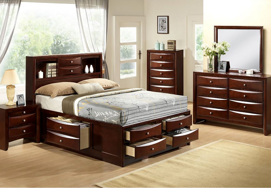 Bedrooms bedroom sets the furniture warehouse for Complete bedroom furniture sets