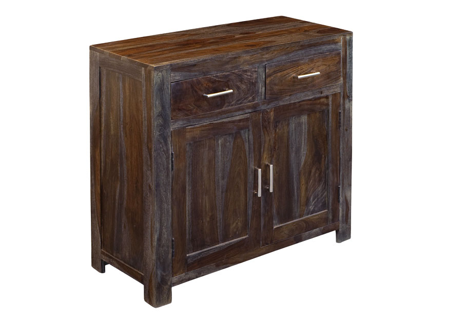 Coast to Coast Grayson Sheesham Two Drawers Two Doors Cabinet