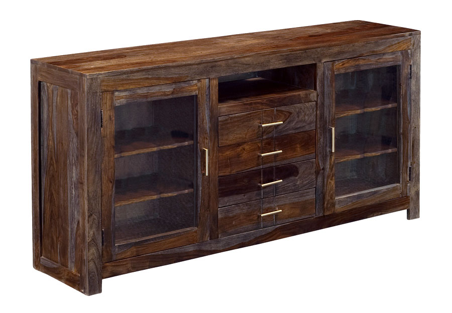 Coast to Coast Grayson Two Door Four Drawer Media Console