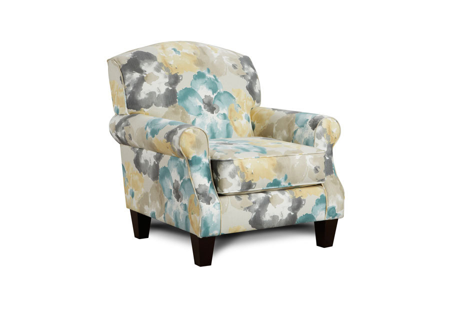 Fusion Aptura Flora Dew Accent Chair
