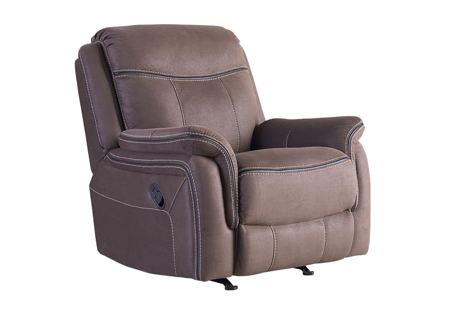 Standard Furniture Champion Brown Power Recliner