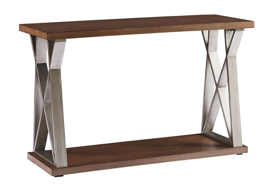 Standard Cumberland Console Table in Havana Brown