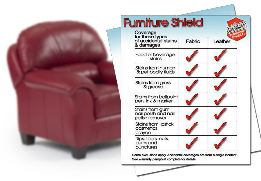 Furniture Shield Leather Protection - Chair
