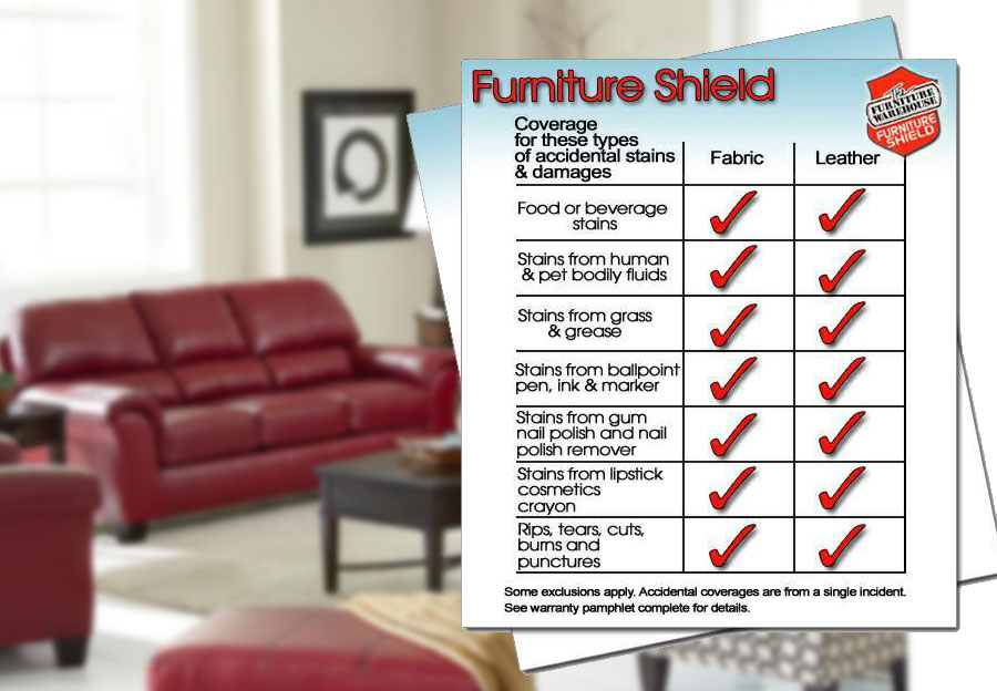 Furniture Shield Leather Protection - Sofa