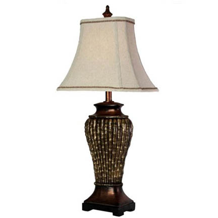 StyleCraft Bamboo Table Lamp