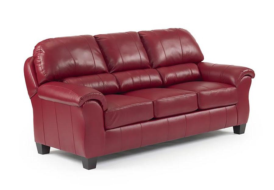 Best Birkett Burgundy Red Sofa Leather Match