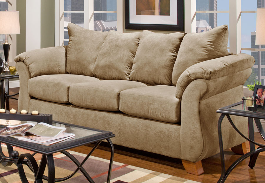 Affordable Furniture Sensation Camel Sofa