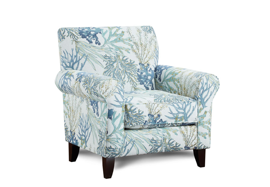Fusion Coral Reef Accent Chair